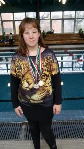 Budapesti úszóverseny - Flórián Laura - nov. 12.